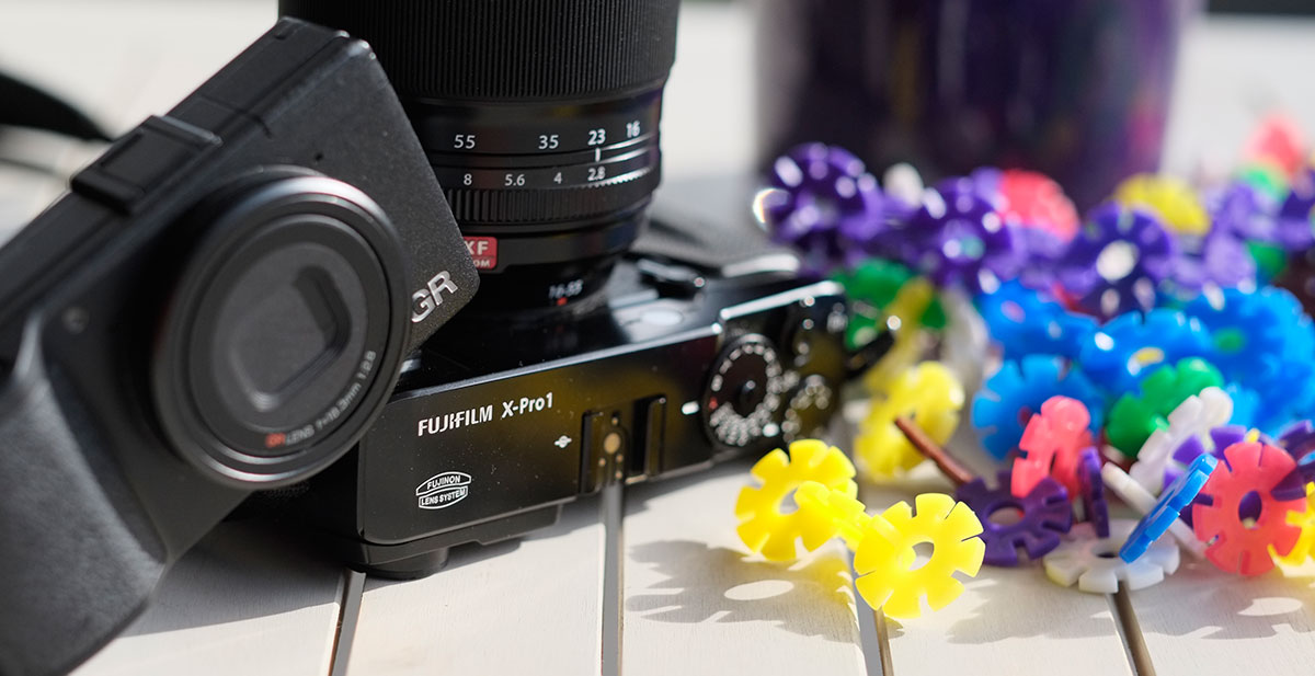 Ricoh GR and Fujifilm X-Pro 1